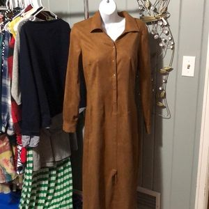 Talbots faux suede dress size 4